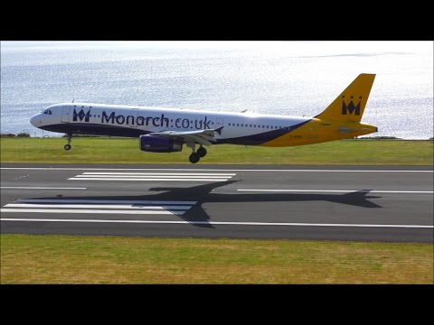 4K! Busy Day Planespotting at Funchal Airport, Madeira! 20/03/17