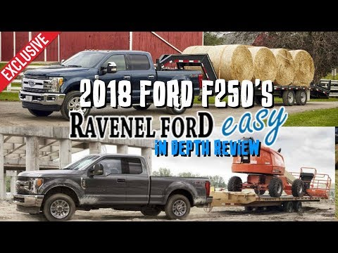 ⚫ 2018 Ford F250 In Depth Review - XL, XLT, Lariat & Platinum | FX4 Packages - First Impressions