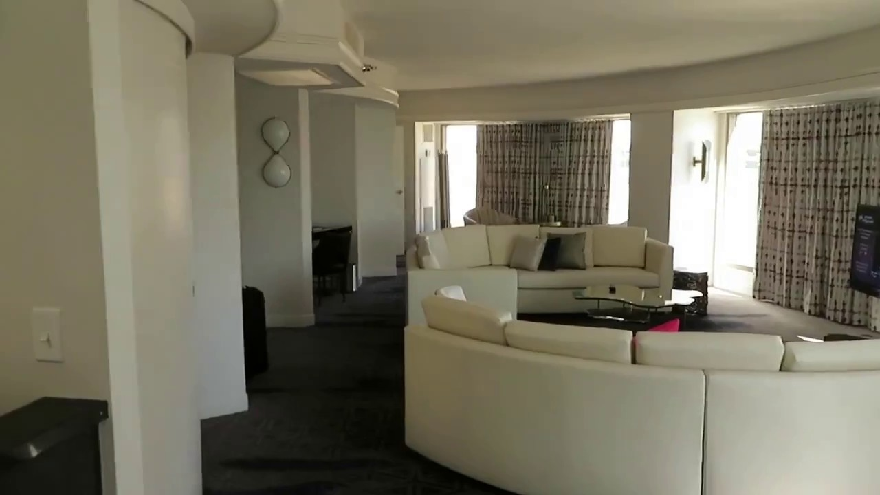 Planet Hollywood High Roller Suite Vegas Strip 2 Bedroom Suite Youtube