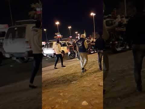 Bahrain national day 2017 drifting burnouts  dubai land cruiser