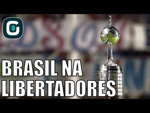 Status Dos Clubes Brasileiros Na Libertadores- Gazeta Esportiva (24/04/18)