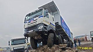 TATRA Phoenix E6 trucks presentation | MAWEV SHOW 2018