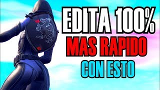 * 10 TRICKS TO EDIT MORE FAST! * FORTNITE! | * TIPS AND TRICKS *