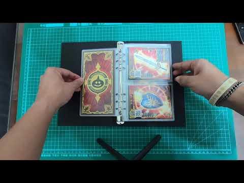 【史萊姆之家】勇者鬥惡龍 喚魔勇者 卡冊 新款活頁 內頁 L 5星 內頁 M 4星 內頁 S 3星以下 內頁 (可放有裝卡套的卡、雙面放卡)