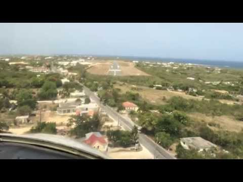 Approach into Anguilla(TQPF) - Runway 10