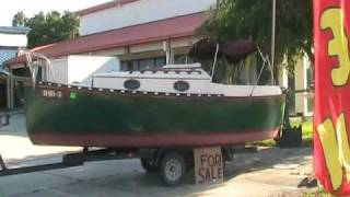 Old Wooden Boat I Saw For Sale In Florida
