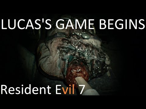 LUCAS'S GAME BEGINS - Resident Evil 7 - Part 7 ft. Tyjax