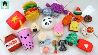 HOMEMADE SQUISHY COLLECTION Ami channel