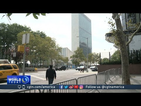 Security tight ahead of  UN General Assembly