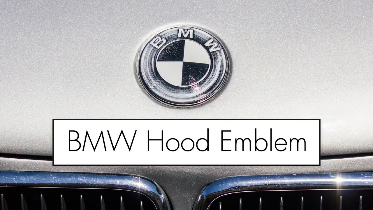 Stunning Bmw Hood Emblem Replacement Aratorn Sport Cars
