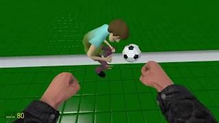 I PLAYED SOCCER IN GARRY'S MOD! - Garry's mod Sandbox