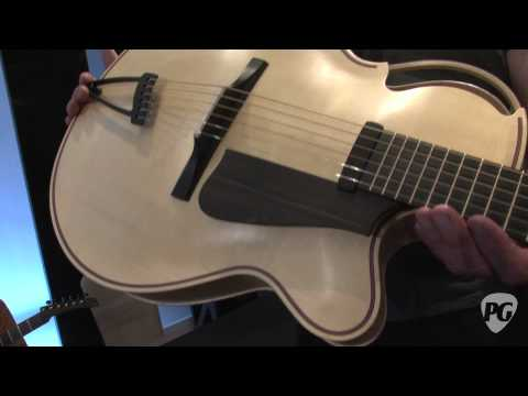 Montreal Guitar Show '11 - Ken Parker Archtops Stella Archtop