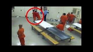 غضب المساجين ! أقوى 5 معارك سجلتها كاميرات السجون