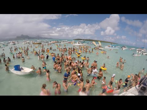 Ile Aux Aigrettes Mauritius Water Party 2016 | HD