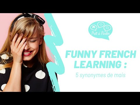 Funny French Learning : 5 Synonymes De Mais