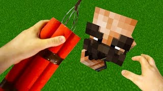 Realistic Minecraft - TOP 10 BEST MOMENTS!