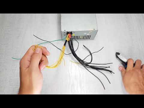 Как сделать блок питания на 12 вольт своими руками из блока питания пк