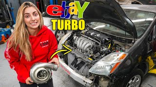 $600 eBay Turbo Kit for my K-Swapped Toyota Prius!