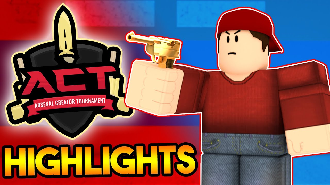 roblox arsenal creator tournament highlights season 1