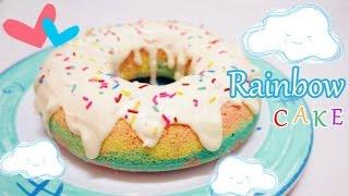 [人人期望可達到] 彩虹蛋糕食譜 Rainbow Cake Recipe * Amy Kitchen