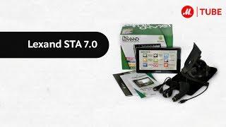 видео Навигатор-планшет на Андроиде - Lexand STA -5.0