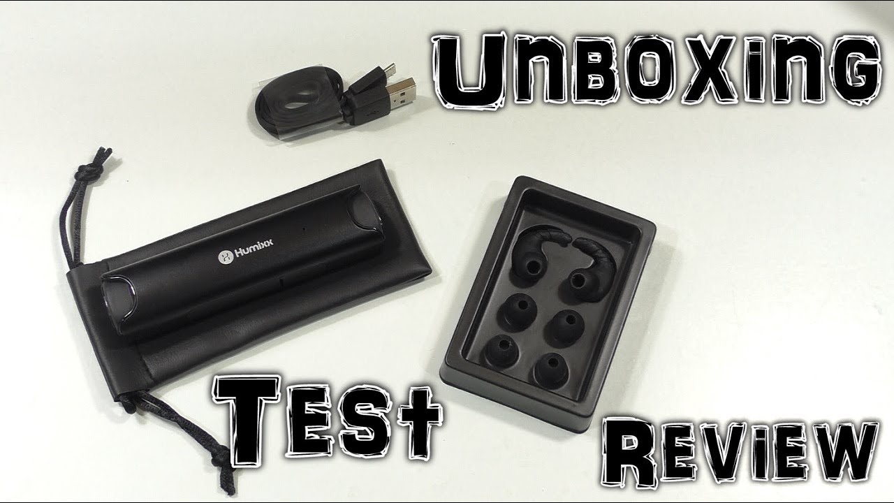 humixx kabellose in ear kopfh rer unboxing test review hd deutsch youtube. Black Bedroom Furniture Sets. Home Design Ideas