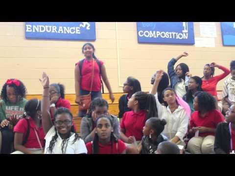 Sandy Springs Police Department Visits Sandy Springs Middle School