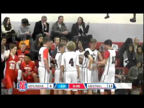 Cresthill Middle School Basketball - Play-by-Play Sports Program