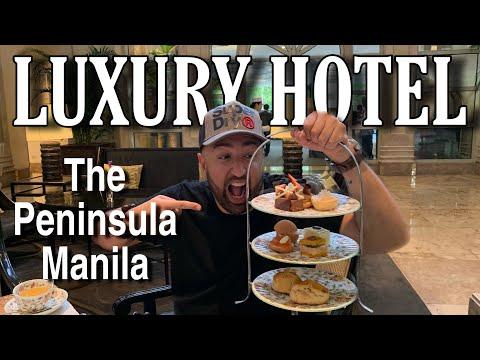 5 Star Luxury Hotel The Peninsula Manila (Review)
