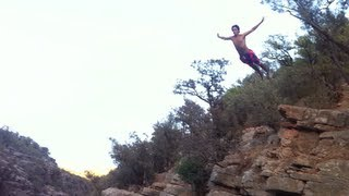 Cliff Jumping - Paradise Valley, Agadir