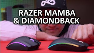 Razer Mamba & Diamondback 2015 - Old friends with a new twist