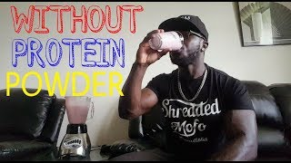 How To Make Protein Shake NO Protein POWDER Needed