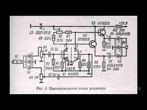 Тетрод-нувистор 6Э13Н
