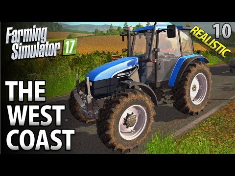 Let's Play Farming Simulator 17 | The West Coast | Episode 10