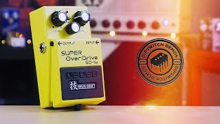 Boss Super Overdrive SD-1w Waza Craft (Demo)