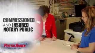Postal Annex Notary Public Service