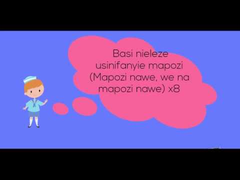 Mr Blue Mapozi-Tanzania cartoon lyrics 2018