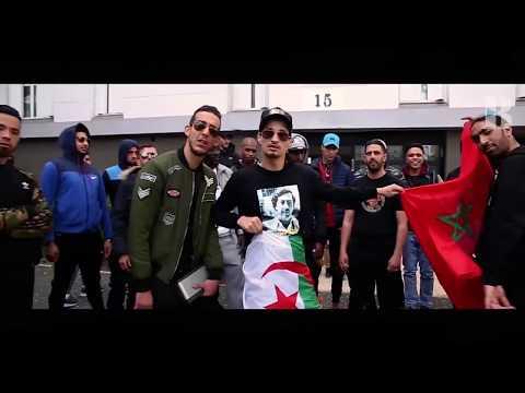 soolking-يرفع-علم-المغرب-والجزائر-وفلسطين-في-فرنسا