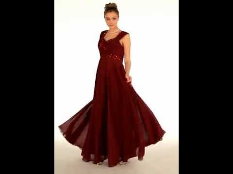 Classy Mother Of The Bride Beautiful Formal Gown Youtube