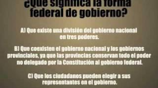 Forma de gobierno federal