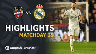 Highlights Levante UD vs Real Madrid (1-2)