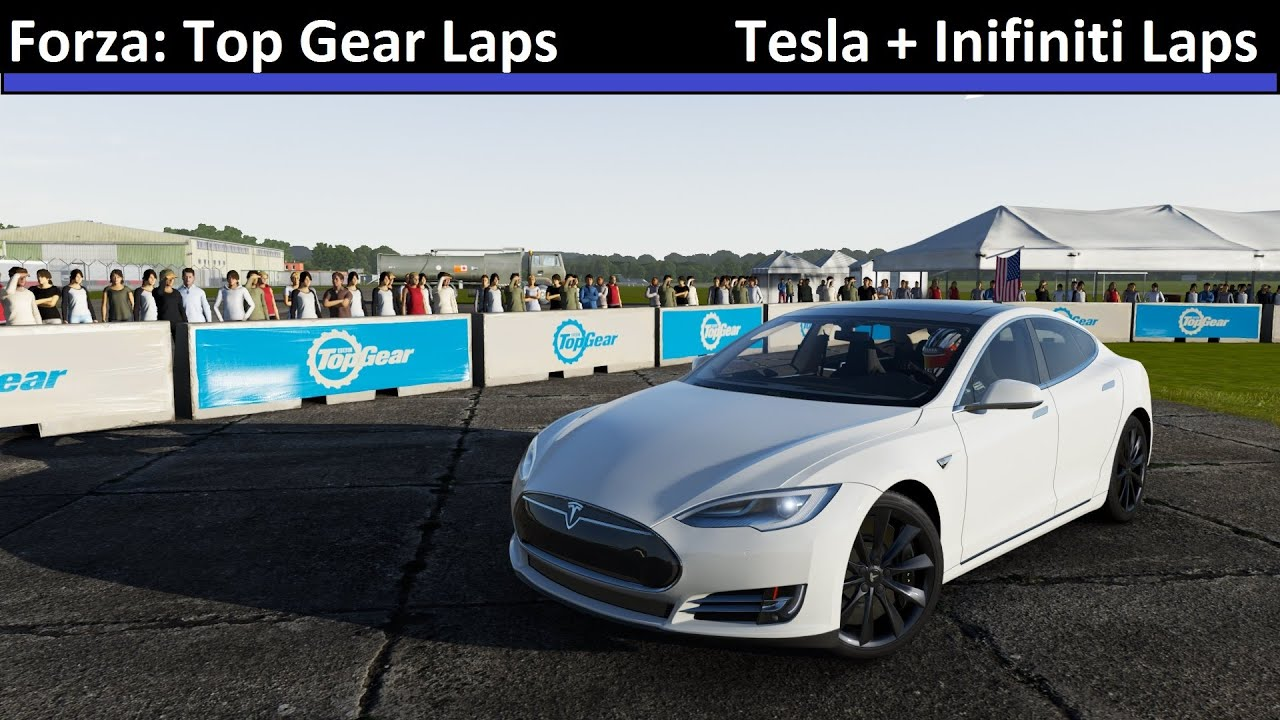 Tesla model s top gear