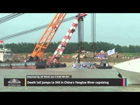 Death Toll Jumps to 345 in China's Yangtze River Capsizing