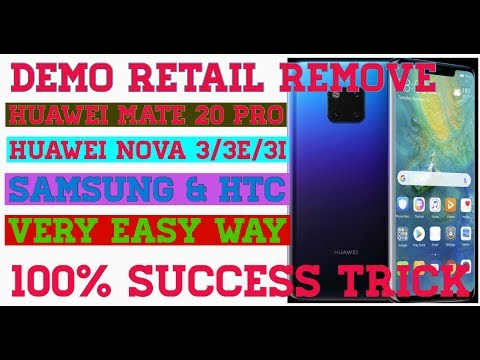 How To Remove Huawei Demo Software 100% Success Trick 2018