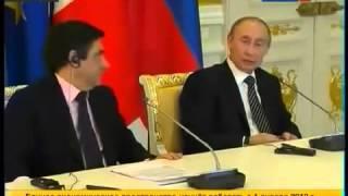 Путин снова отжигает перед немцами!   Меркель в шоке!1