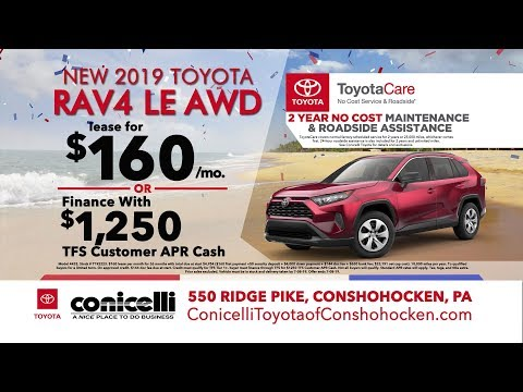 Toyotacare Roadside Assistance Number >> 166 Mo Camry 160 Mo Rav4 112 Mo Tacoma At Conicelli