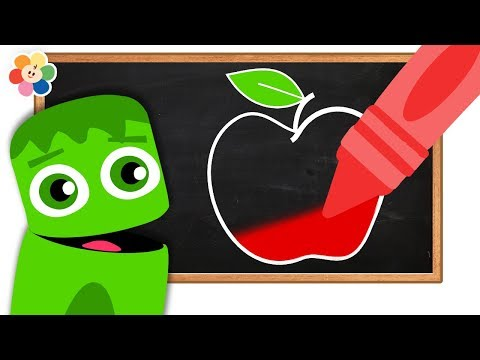 Learn Colors for Kids With Color Crew | All Of The Colors | Colorful Crayons Coloring | BabyFirst TV