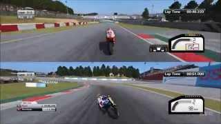 MotoGP 15 - Split Screen | CoOp Gameplay (PC HD) [1080p]