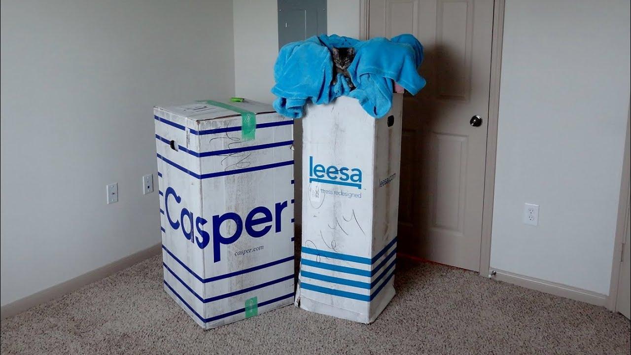 Casper vs Leesa Quick Comparison - YouTube