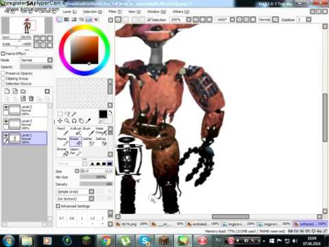[edit] withered old foxy